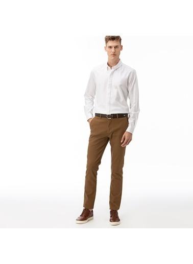 Lacoste Erkek Slim Fit Pantolon HH2041.41K Kahve